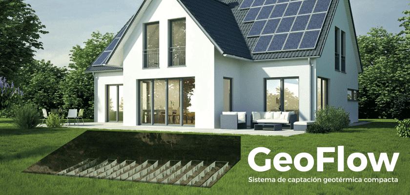 GeoFlow; geotermia para calentar en invierno y enfriar en verano
