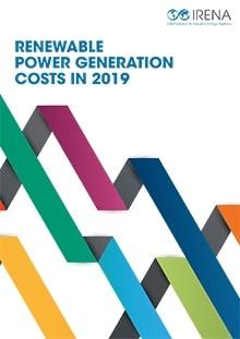 informe IRENA costes de generación