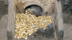 Limpieza estufa pellets