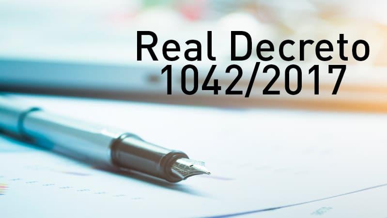 El Real Decreto 1042/2017 y las emisiones de gases contaminantes