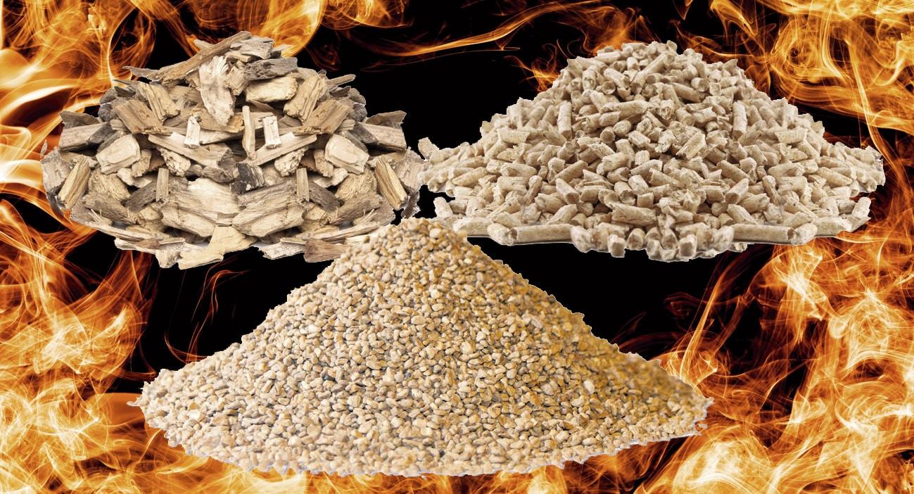 Tipos de Biomasa y cómo saber si es de calidad: Los Pellets