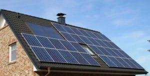 cubierta inclinada instalacion solar