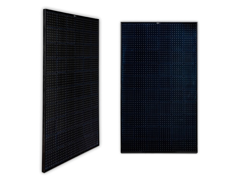 Panel monocristalino 60 células All Black MWT 310-330Wp