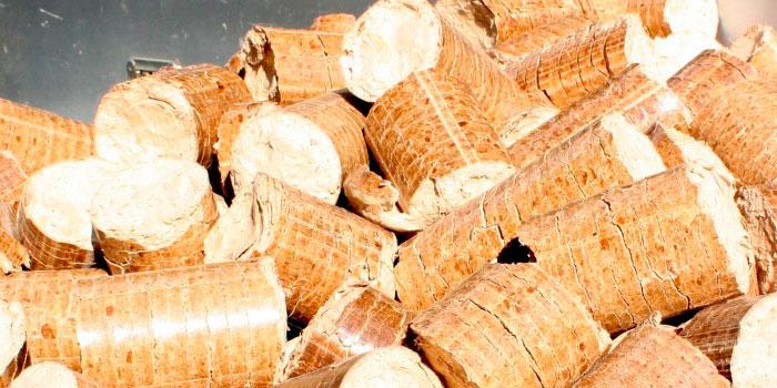 ¿Cuál es el combustible de biomasa más utilizado?