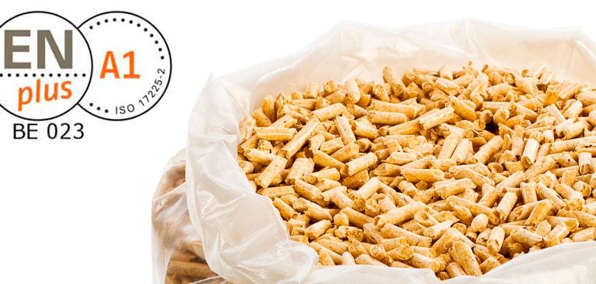 El pellet certificado ENplus® supone el 85% del mercado